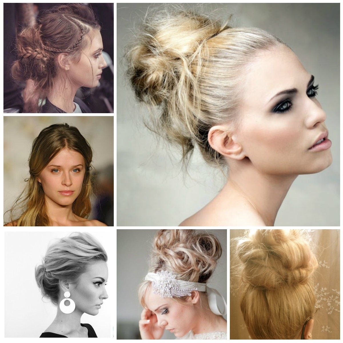 Messy Updo Hairstyles For 2017 | Hairstyles 2018 New Haircuts And With Regard To Messy Updo Hairstyles (View 4 of 15)