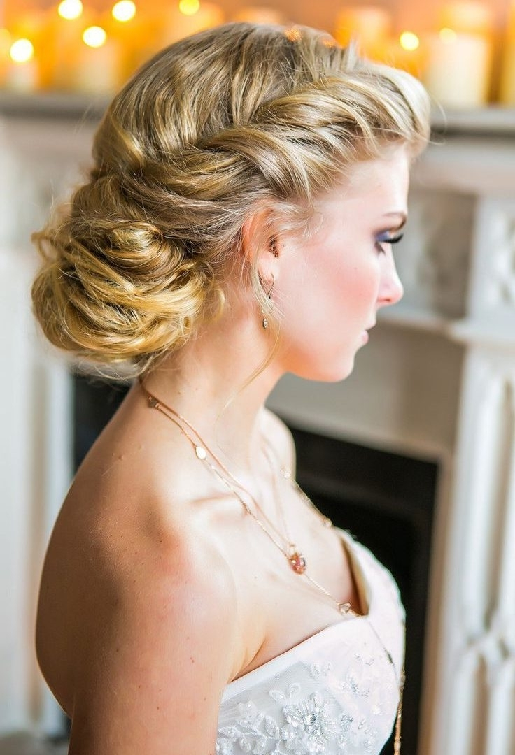 Modern Updos For Long Hair In Formal Updo Hairstyles Stock Photos Hd Inside Dressy Updo Hairstyles (View 12 of 15)
