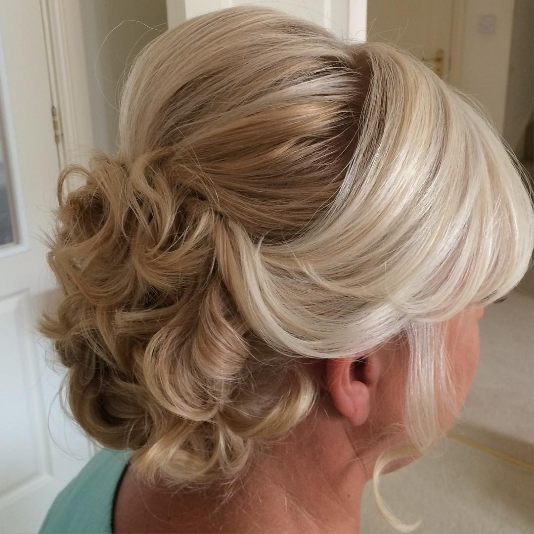 Mother Of Groom Hairstyles Updo 40 Ravishing Mother Of The Bride Inside Updo Hairstyles For Mother Of The Groom (View 8 of 15)