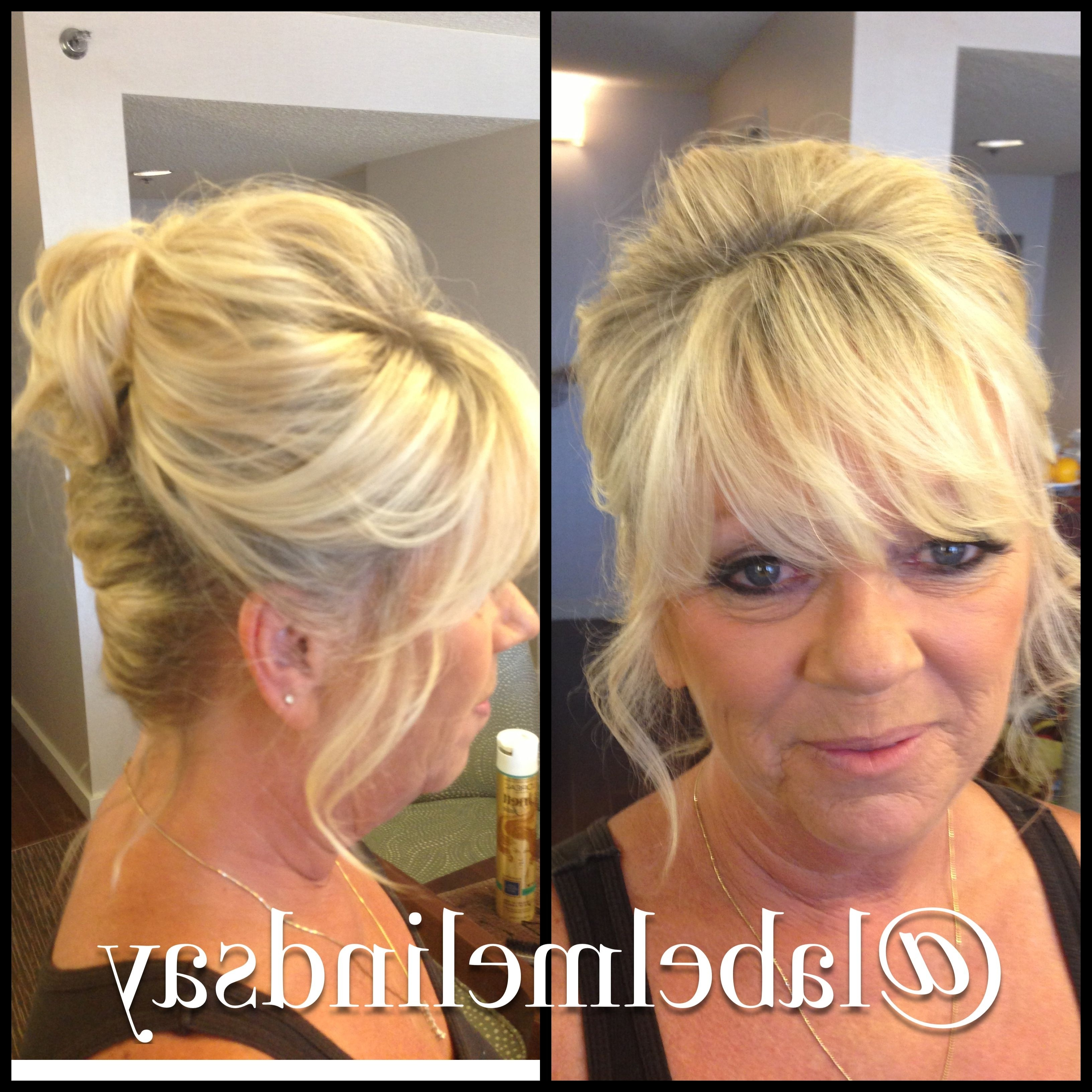 Mother Of The Bride Hair Wedding Updo | Hair Inspiration | Pinterest Pertaining To Half Updos For Mother Of The Bride (View 8 of 15)