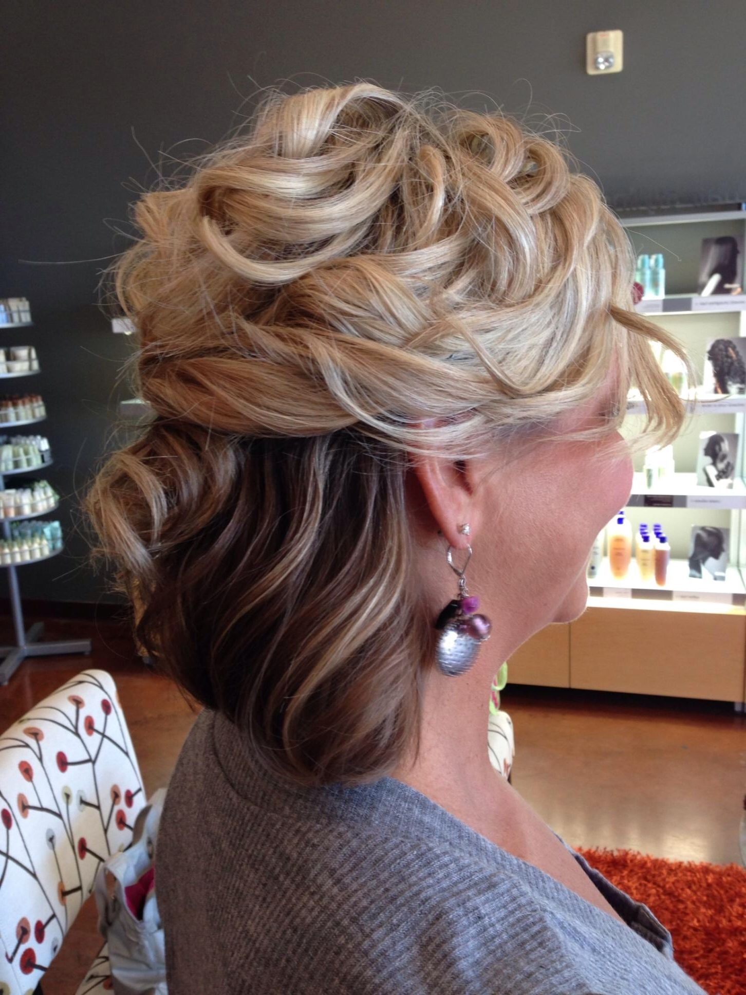 Mother Of The Bride Hairstyles For Medium Length Hair | Justswimfl Intended For Updo Hairstyles For Mother Of The Bride Medium Length Hair (View 13 of 15)