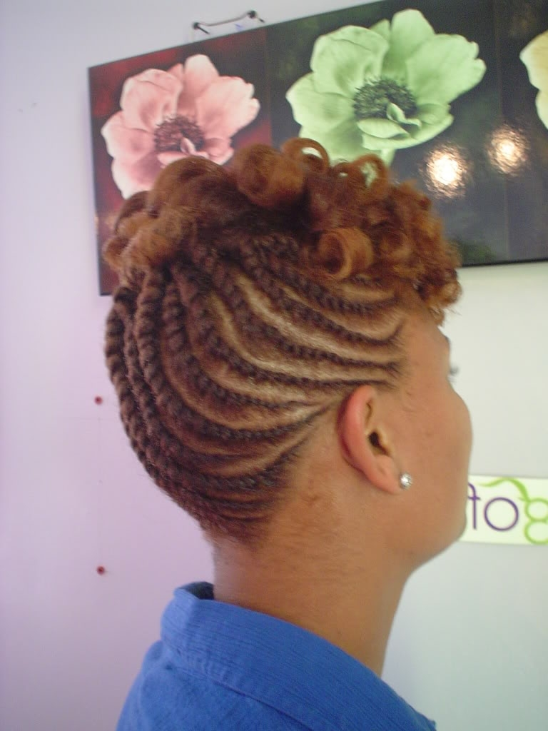 Natural Hair Flat Twist Updo – Thirstyroots: Black Hairstyles In Twisted Updo Hairstyles (View 14 of 15)
