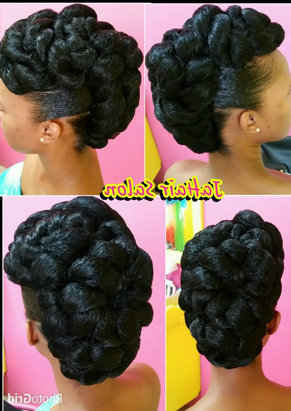 Natural Hair | Updo, Hair Style And Natural Inside Updos Hairstyles For Natural Black Hair (View 14 of 15)