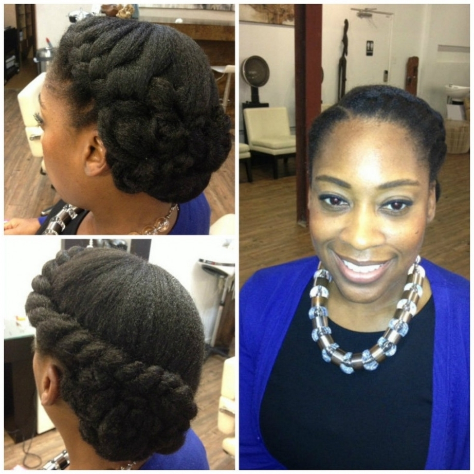 Natural Hairstyles Updos Black Natural Hairstyles Updos Black Hair Intended For Black Natural Updo Hairstyles (View 9 of 15)
