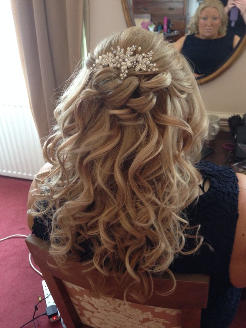 Occasion/ Mother If The Bride. Half Updo X | Hair Styles | Pinterest For Half Updos For Mother Of The Bride (Gallery 1 of 15)