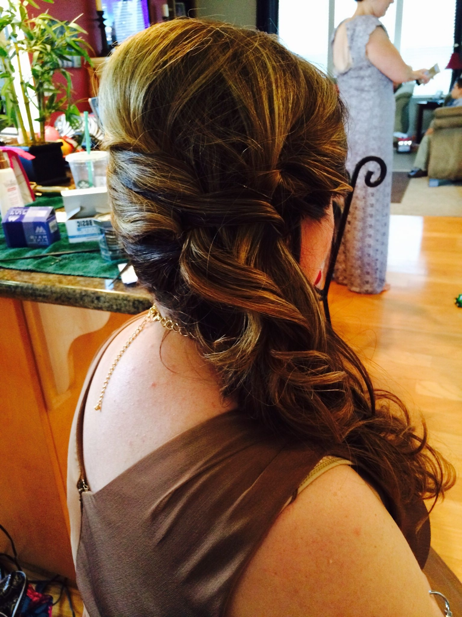 Partial Side Updo | Hair Affair | Pinterest | Updo And Hair Affair Pertaining To Partial Updo Hairstyles (View 9 of 15)