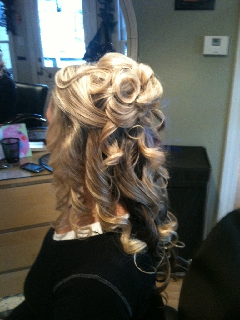 Partial Updo Hairstyles Partial Updo Hairstyles For Wedding Women Regarding Partial Updo Hairstyles (View 10 of 15)