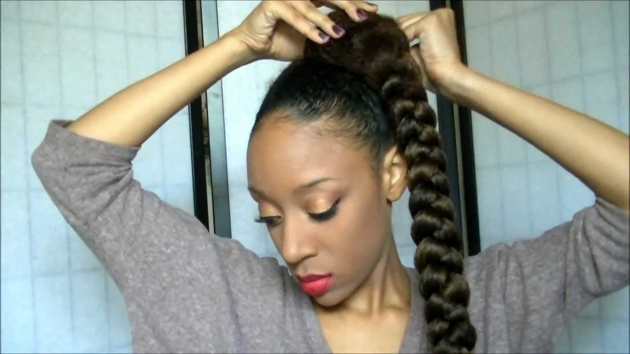 Pictures Of Updo Hairstyles With Kanekalon Hair With Kanekalon Hair Updo Hairstyles (View 6 of 15)