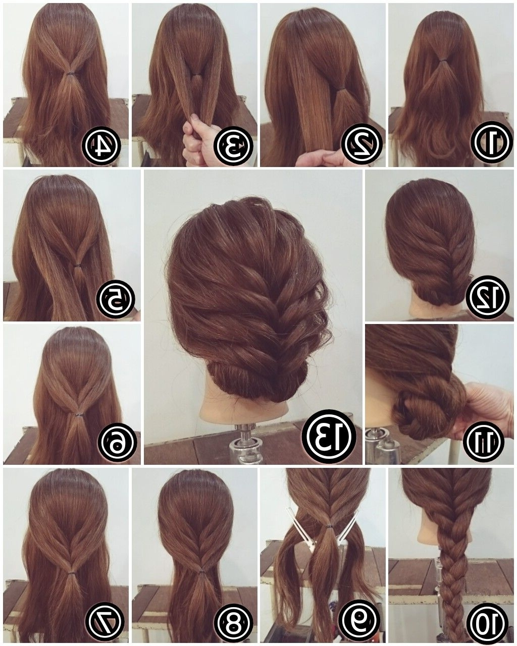 Pinjen Reen On Hair | Pinterest | Updo, Hair Style And Makeup Throughout Easy Hair Updos For Long Hair (View 11 of 15)