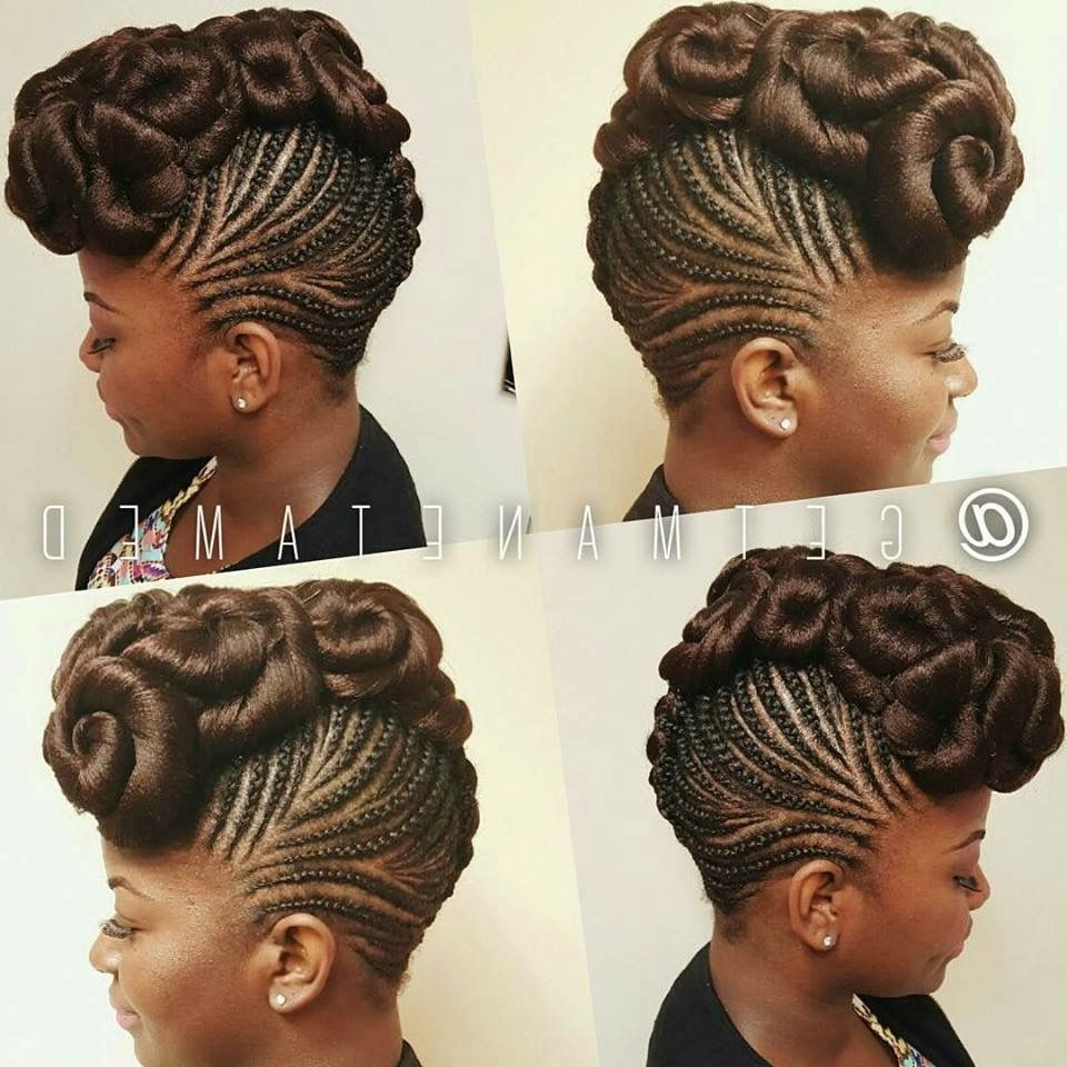 Pinrayhab Wangari On Braiding | Pinterest | Updo, Hair Style And Within Hype Updo Hairstyles (View 3 of 15)