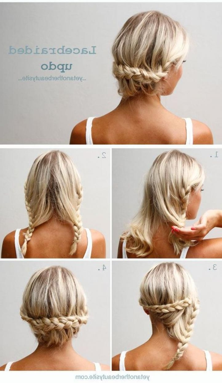 Pinspiration: 13 Gemakkelijke 2 Minuten Kapsels | Hair Style, Updo In Easy Updo Hairstyles For Thin Hair (View 9 of 15)