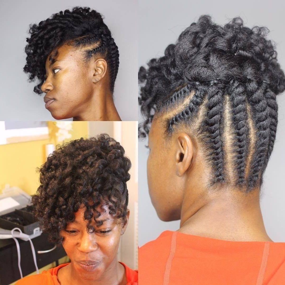 Pint On Flat Twist Updo | Pinterest | Flat Twist Updo, Flat Throughout Twist Updo Hairstyles For Black Hair (View 11 of 15)