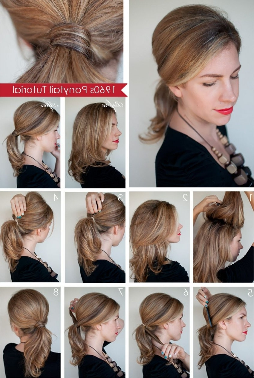 Popular Cute Quick Hairstyles For Short Hair 33 Inspiration With Inside Quick Updos For Short Hair (View 9 of 15)