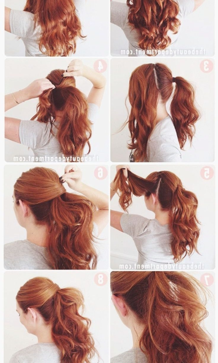 Popular Easy Updos For Long Hair Style Impressive Hairstyles Thick For Easy Updos For Thick Medium Length Hair (View 12 of 15)