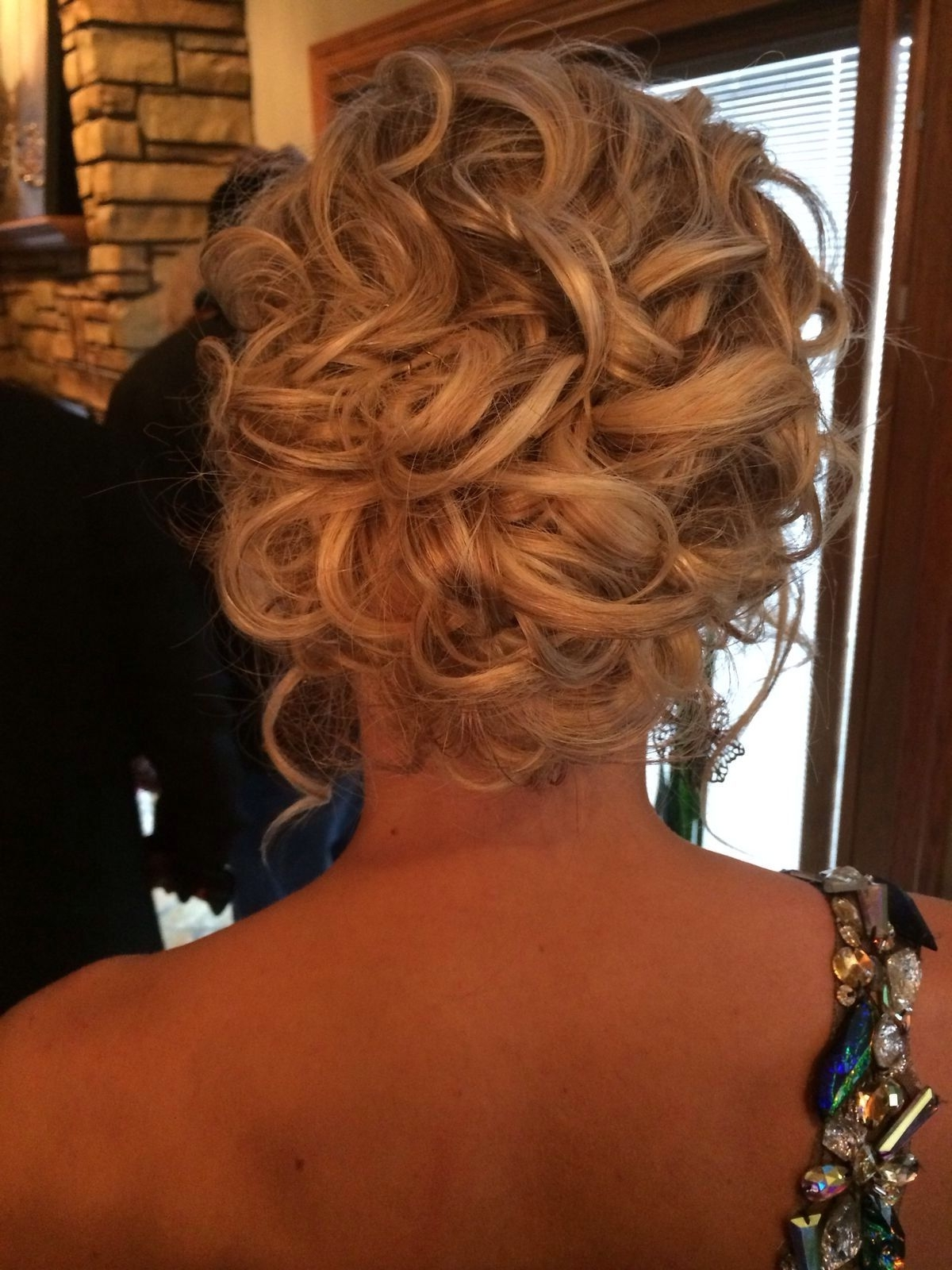 Prom Hair Updo | Hair | Pinterest | Prom Hair Updo, Prom Hair And Updo Intended For Loose Updos For Curly Hair (View 13 of 15)