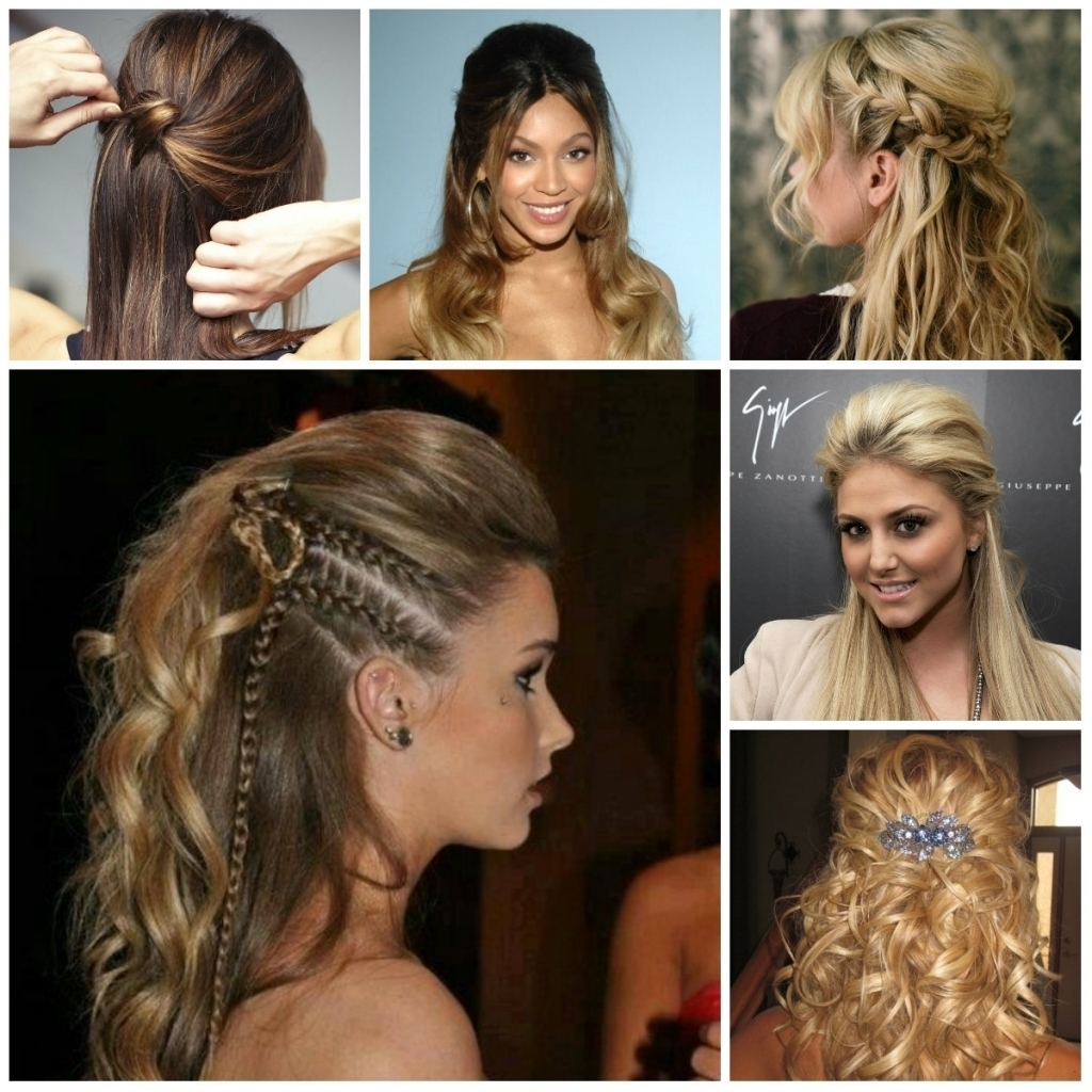 Prom Hairstyle 2016 Half Up Half Down Updo Hairstyles 2016 Haircuts Inside Half Up Half Down Updo Hairstyles (View 13 of 15)