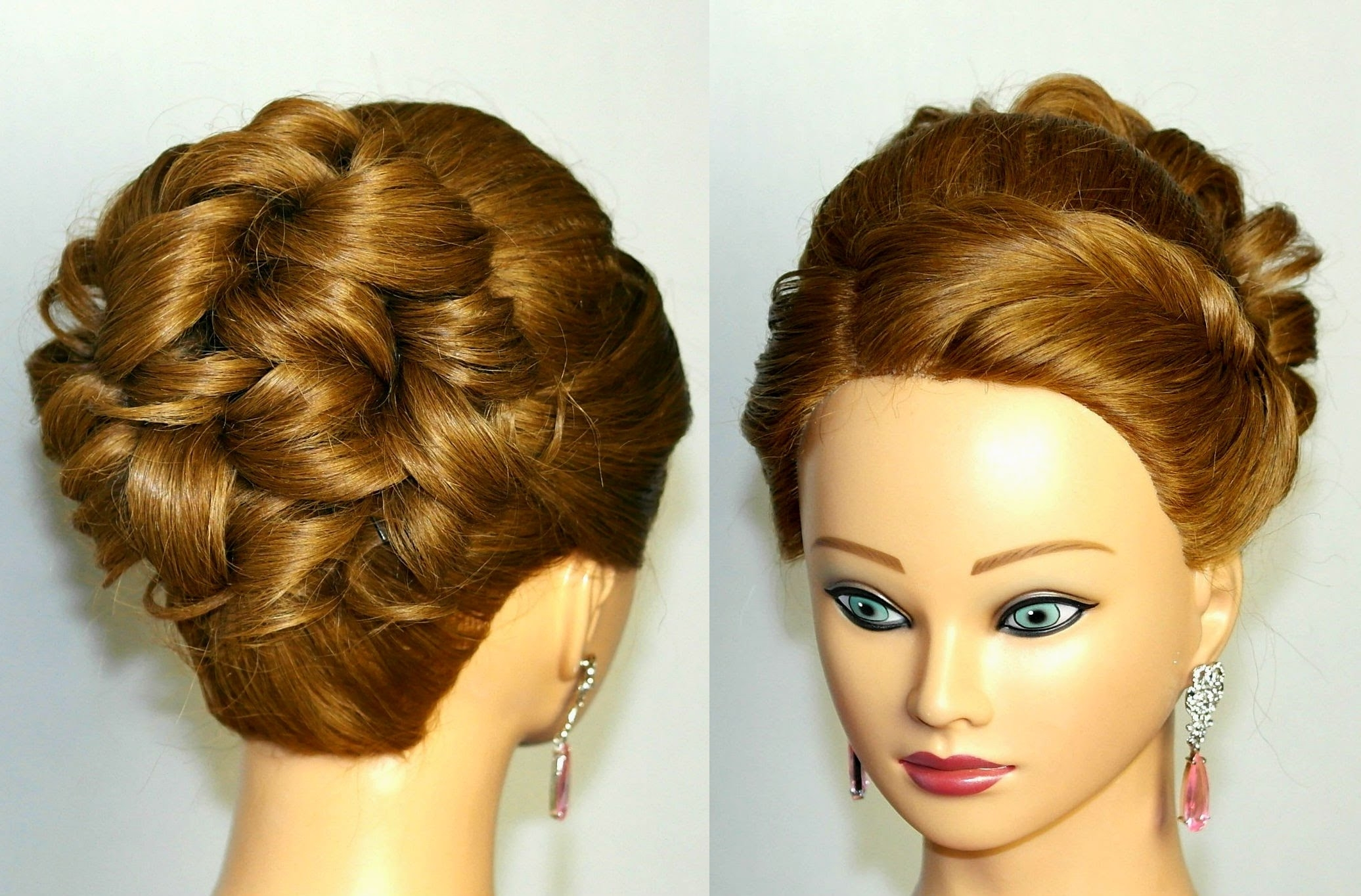 Prom Hairstyle For Medium Long Hair (View 3 of 15)