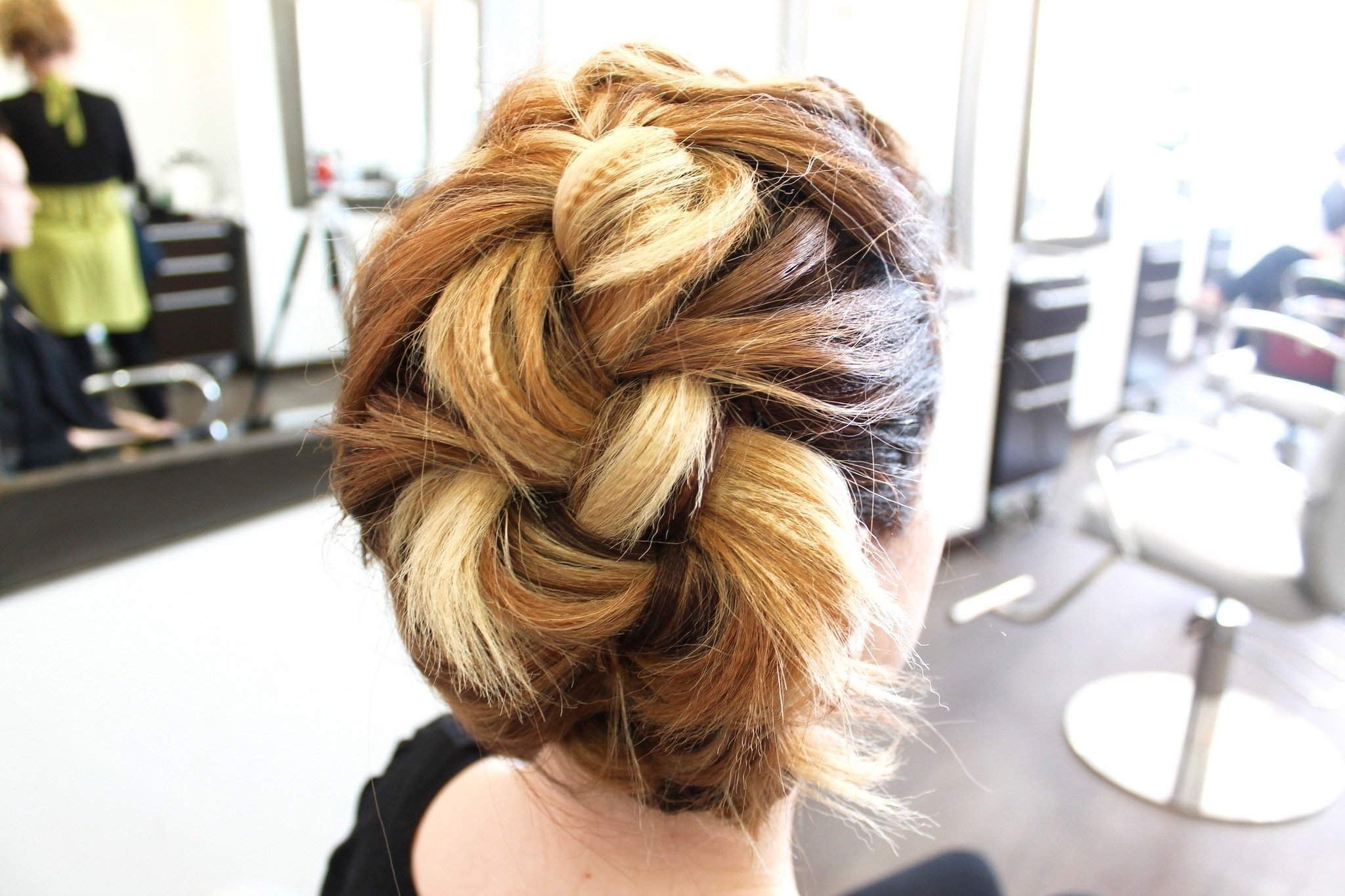 Prom Hairstyle–How To Create A Perfect Edgy And Classic Updo (Video Inside Funky Updo Hairstyles For Long Hair (View 14 of 15)