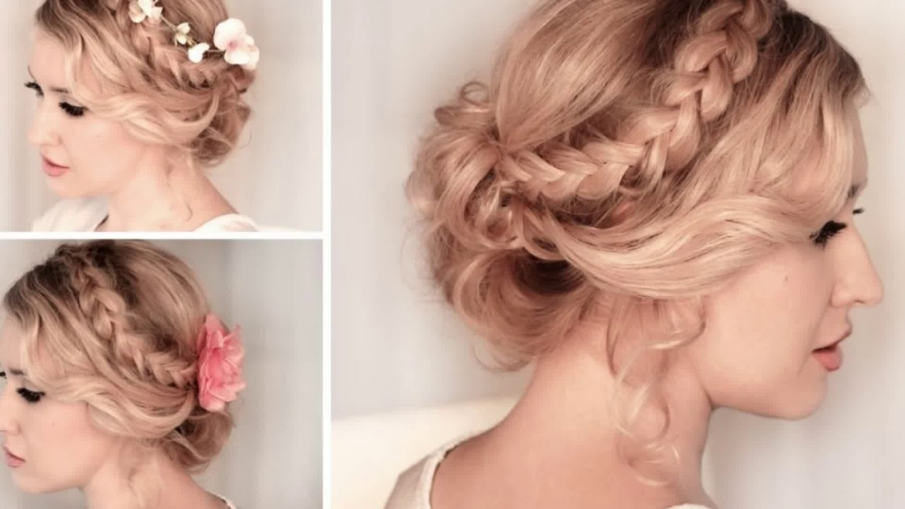 Prom Hairstyle Thin Hair – Youtube Pertaining To Long Thin Hair Updo Hairstyles (View 9 of 15)