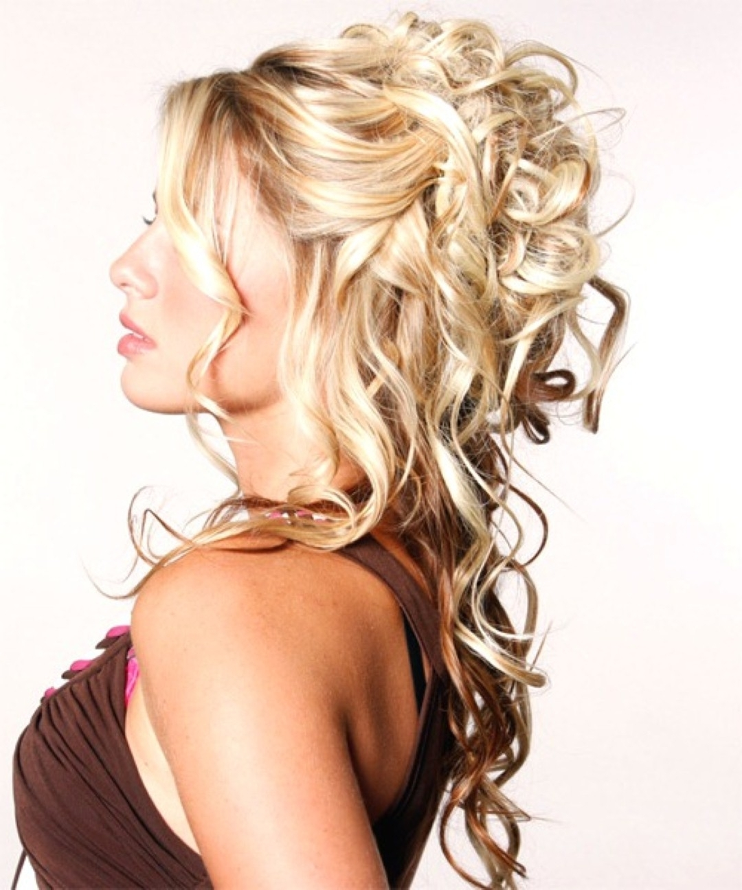 Prom Hairstyles For Long Hair | Hair Styles | Pinterest | Prom Pertaining To Long Curly Hair Updo Hairstyles (View 10 of 15)