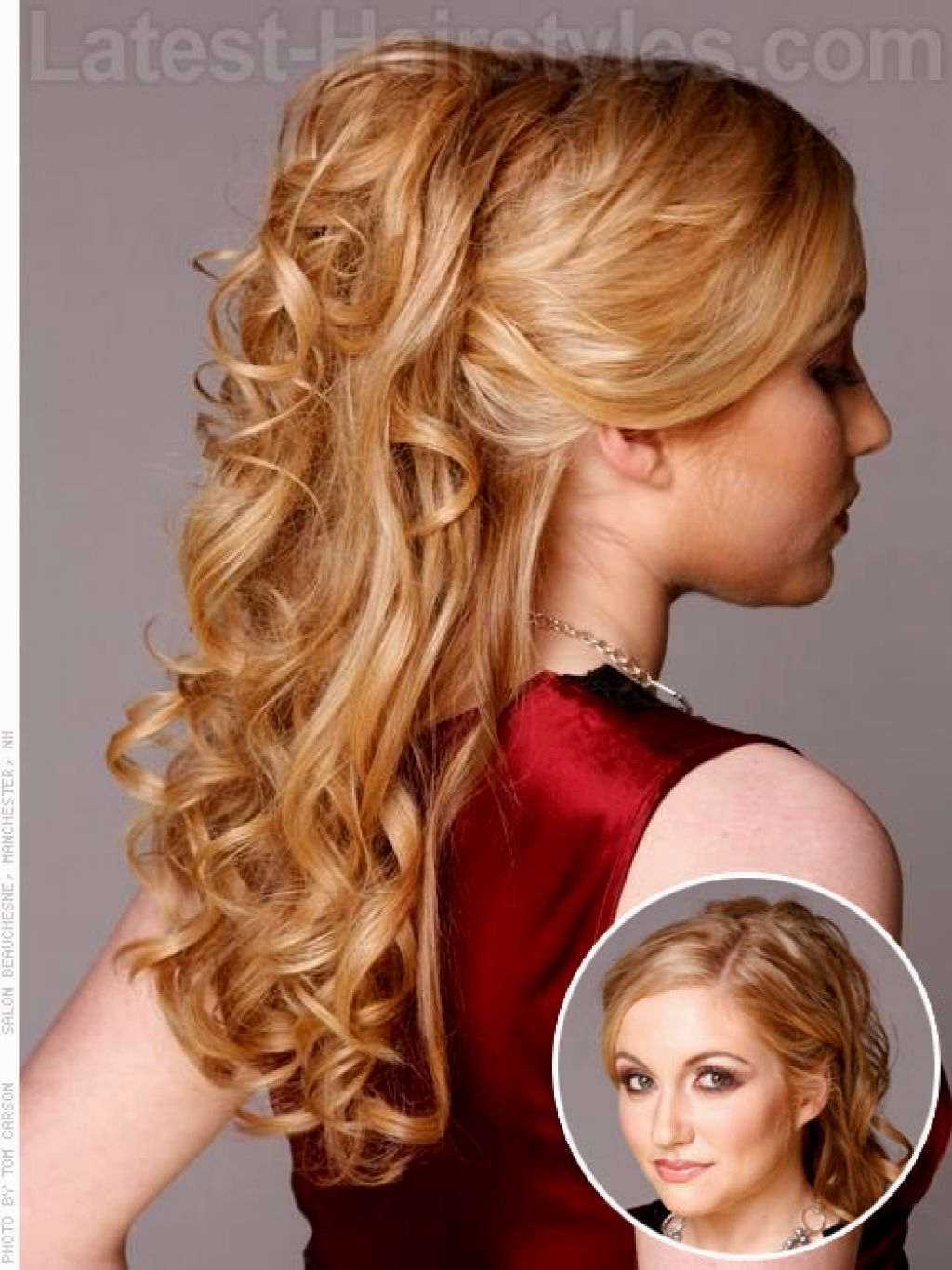 Prom Hairstyles For Medium Length Hair Homecoming Hairstyles Down Regarding Homecoming Updos Medium Hairstyles (View 12 of 15)
