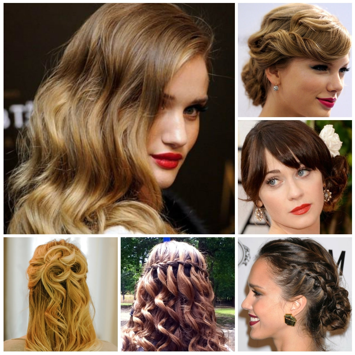 Prom Hairstyles For Teenagers | New Haircuts To Try For 2018 Pertaining To Teenage Updos For Long Hair (View 11 of 15)