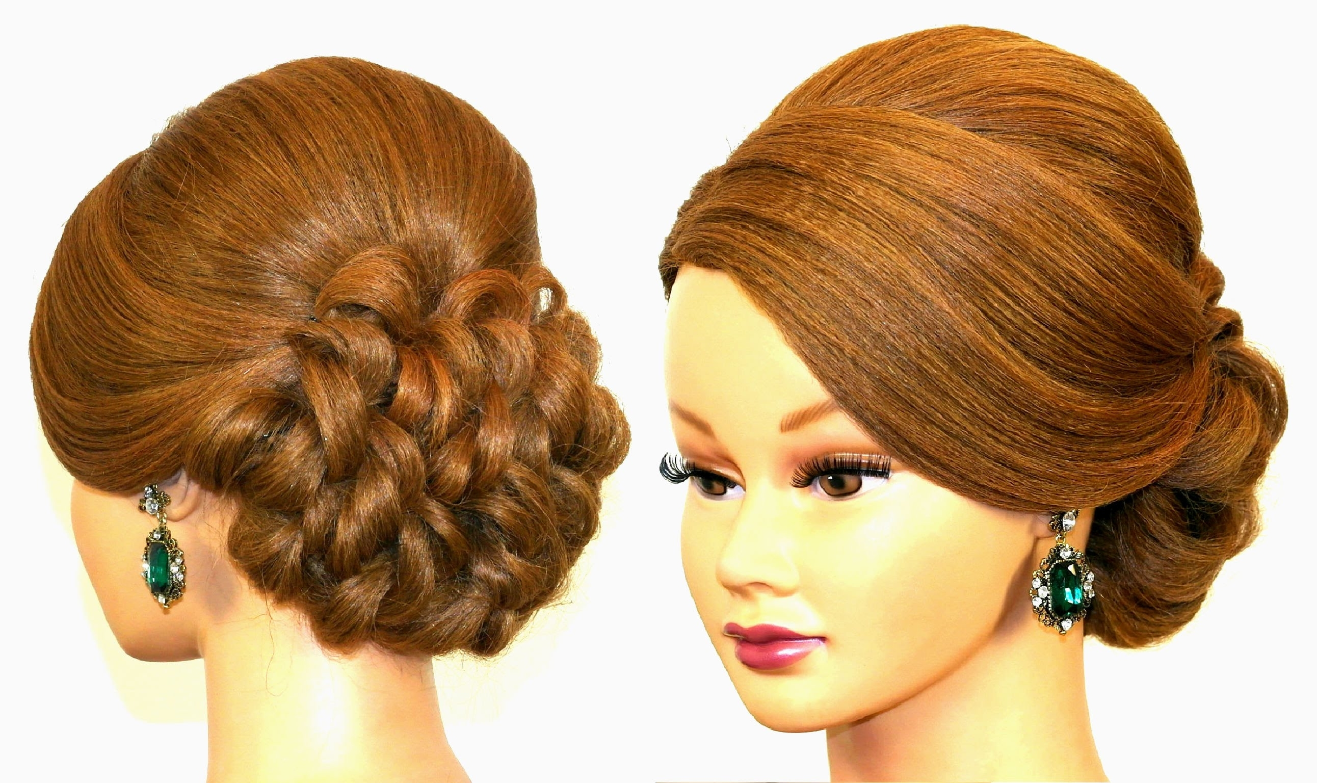 Prom Updo. Hairstyle For Long Hair Tutorial (View 14 of 15)