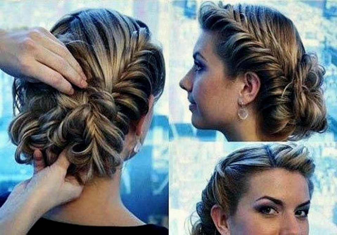 Prom Updo Hairstyles For Long Hair – Women Medium Haircut In Updo Hairstyles For Thick Hair (View 11 of 15)
