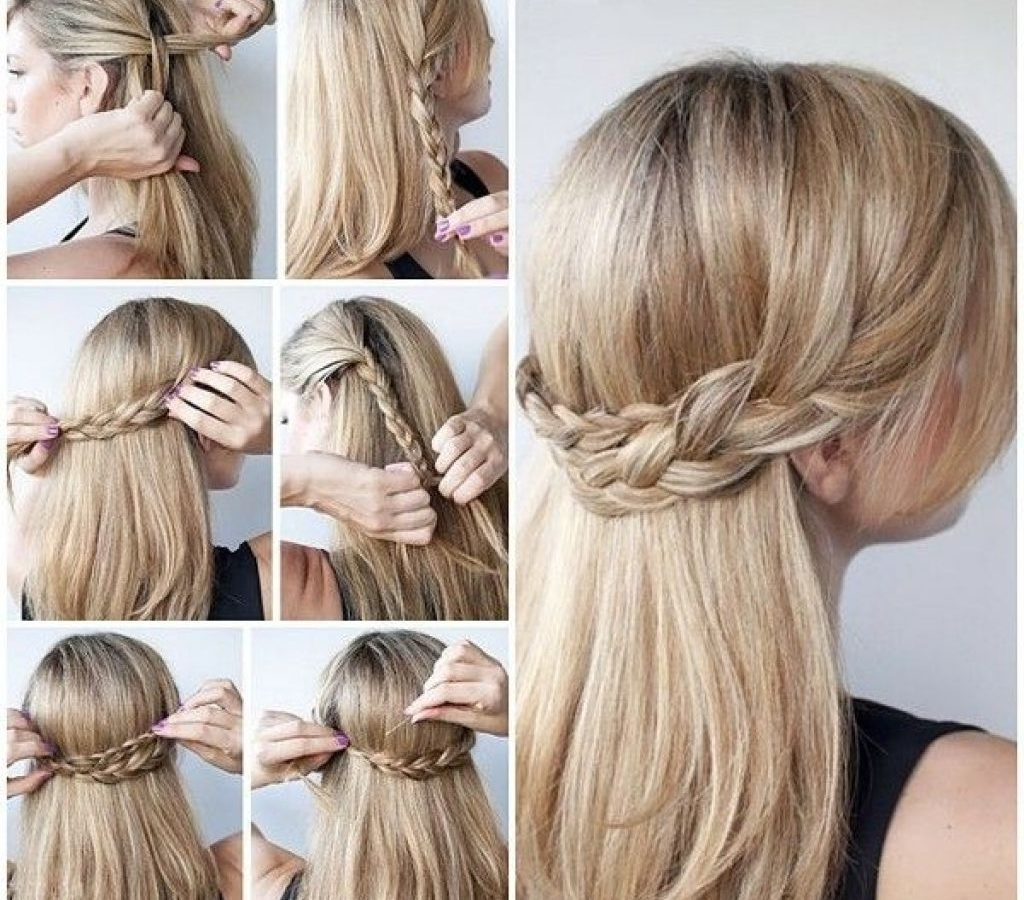 Prom Updo Hairstyles For Long Hair Women Medium Impressive Thick Inside Cute Updo Hairstyles For Medium Hair (View 14 of 15)