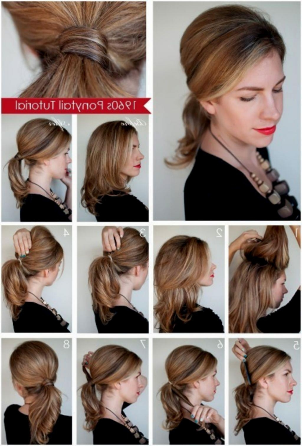 Quick Hairstyles For Medium Hair Length Easy Hairstyles Medium In Quick Updos For Medium Length Hair (View 15 of 15)