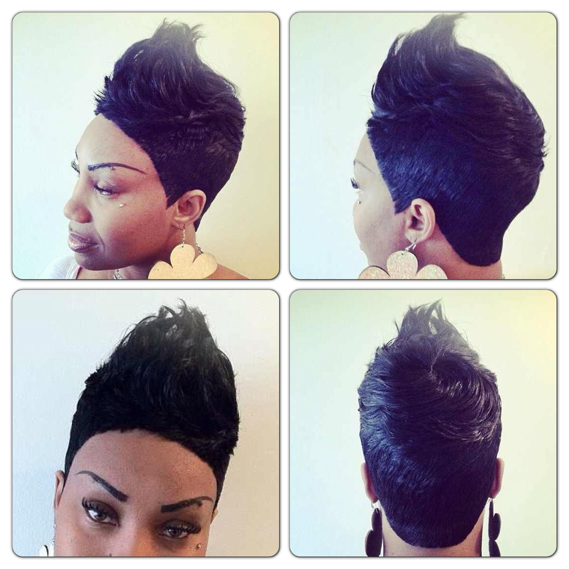 Quick Weave Updo Hairstyles 1000+ Images About Cute Quick Weaves. On For Quick Weave Updo Hairstyles (Gallery 9 of 15)