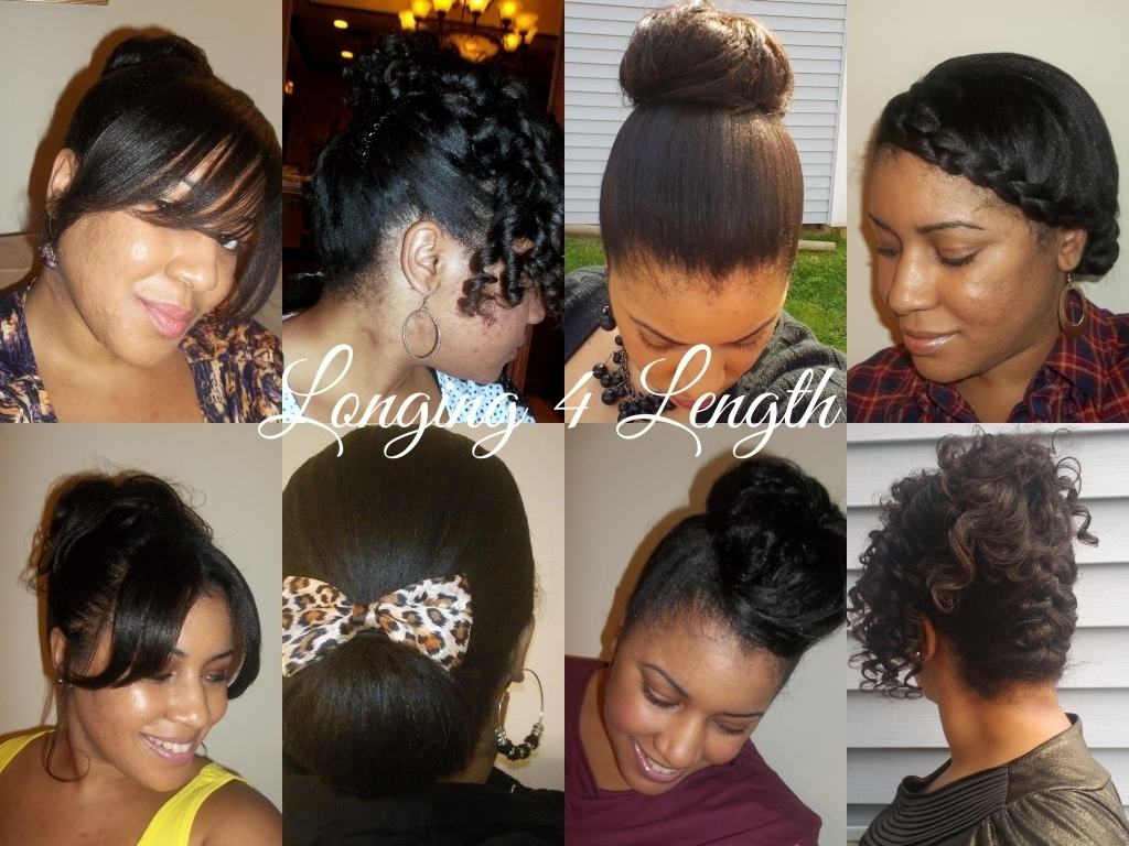 Relaxed Hair Updos Hairstyles 10 Best Formal Hairstyles For Short Within Updo Hairstyles For Permed Hair (View 12 of 15)