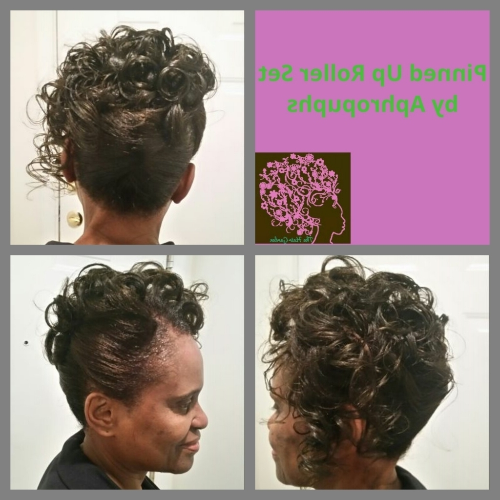 Relaxed Hair Updos Hairstyles Relaxed Hair Updos Hairstyles Black With Regard To Updo Hairstyles For Permed Hair (View 13 of 15)