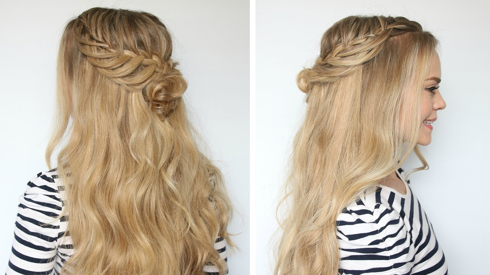 Romantic Prom Hairstyle With Luxy Hair Extensions | Missy Sue – Youtube Regarding Luxy Updo (View 15 of 15)