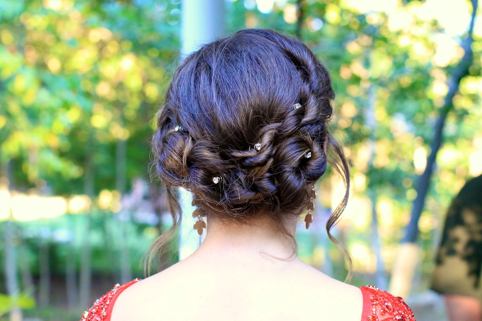 Rope Twist Updo | Homecoming Hairstyles | Cute Girls Hairstyles In Cute Girls Updo Hairstyles (View 13 of 15)