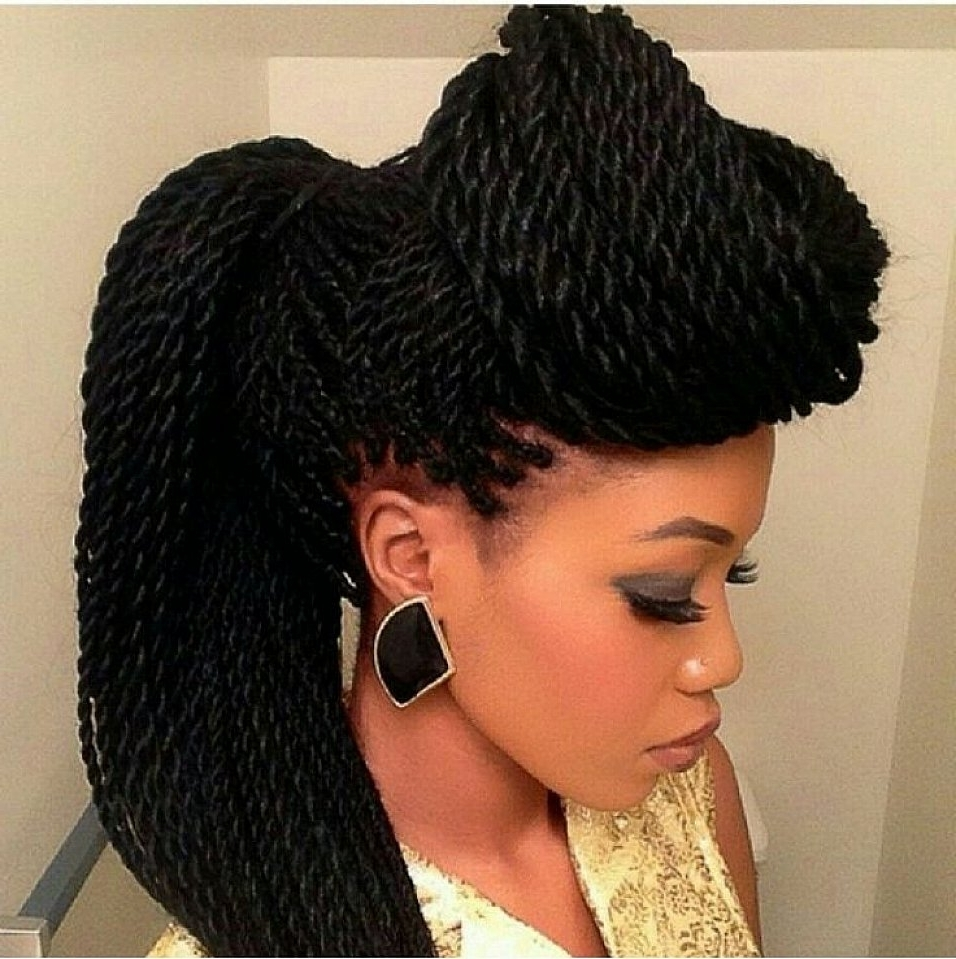 Senegalese Twist Updo Hairstyles For Long Hair | Things I Love Regarding Senegalese Twist Styles Updo Hairstyles (View 8 of 15)