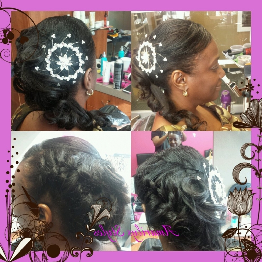 Sew In Updo Hairstyles – Glamour Women Hairstyle With Sew In Updo Hairstyles (View 3 of 15)