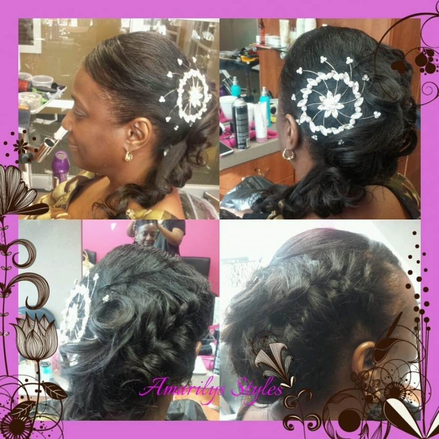 Sew In Updo Hairstyles Wedding Updo And Sew In Weave – Yelp | Latest Regarding Sew In Updo Hairstyles (View 11 of 15)