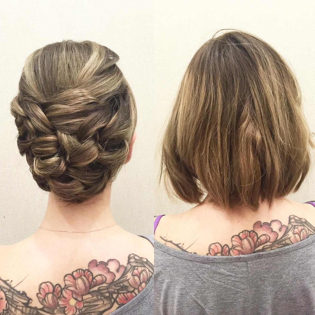 2019 Latest Short Wedding Updo Hairstyles