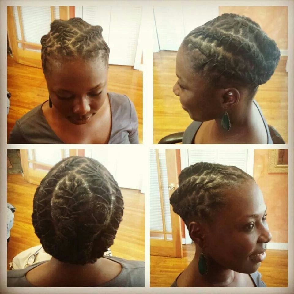 Short Loc Style | Loc Motivation | Pinterest | Locs, Shorts And Dreads With Regard To Updo Hairstyles For Locks (View 11 of 15)