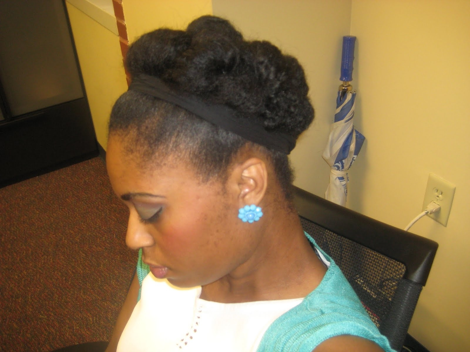 Short Natural Hair – Hairstyle For Women & Man With Natural Hair Updos For Short Hair (View 6 of 15)
