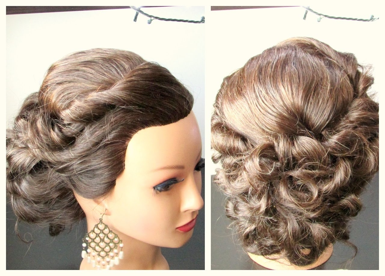 Shoulder Length Hairstyles Updo Medium Length Hairstyle, Prom Throughout Shoulder Length Updo Hairstyles (View 9 of 15)