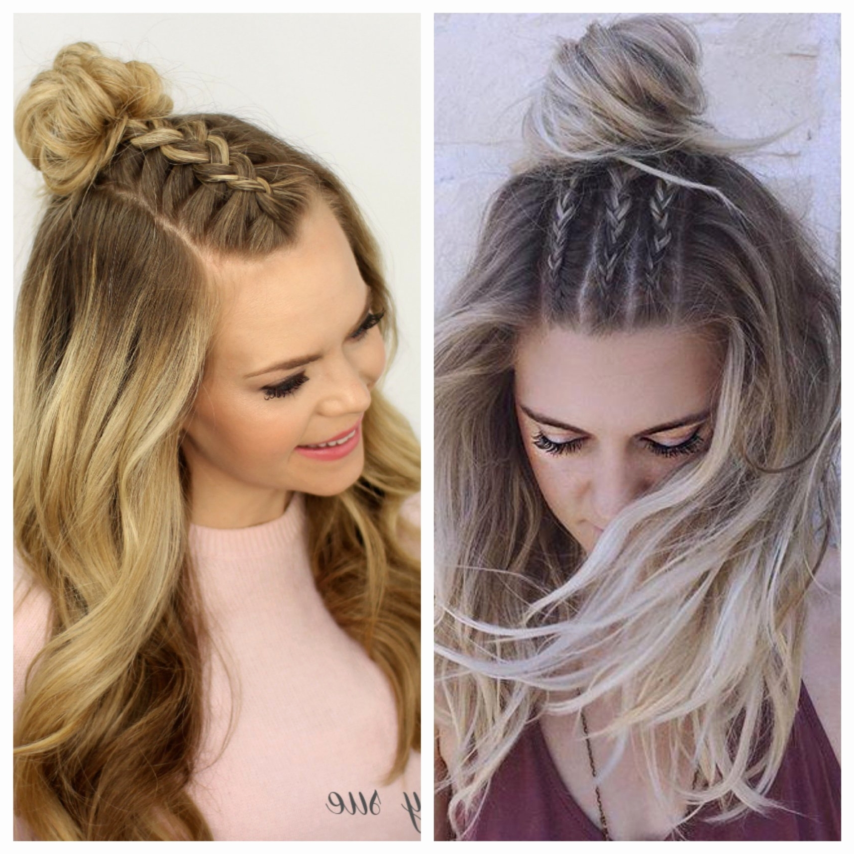 Simple Half Up Half Down Hairstyles Straight Hair Inspirational Half Within Straight Half Updo Hairstyles (View 14 of 15)