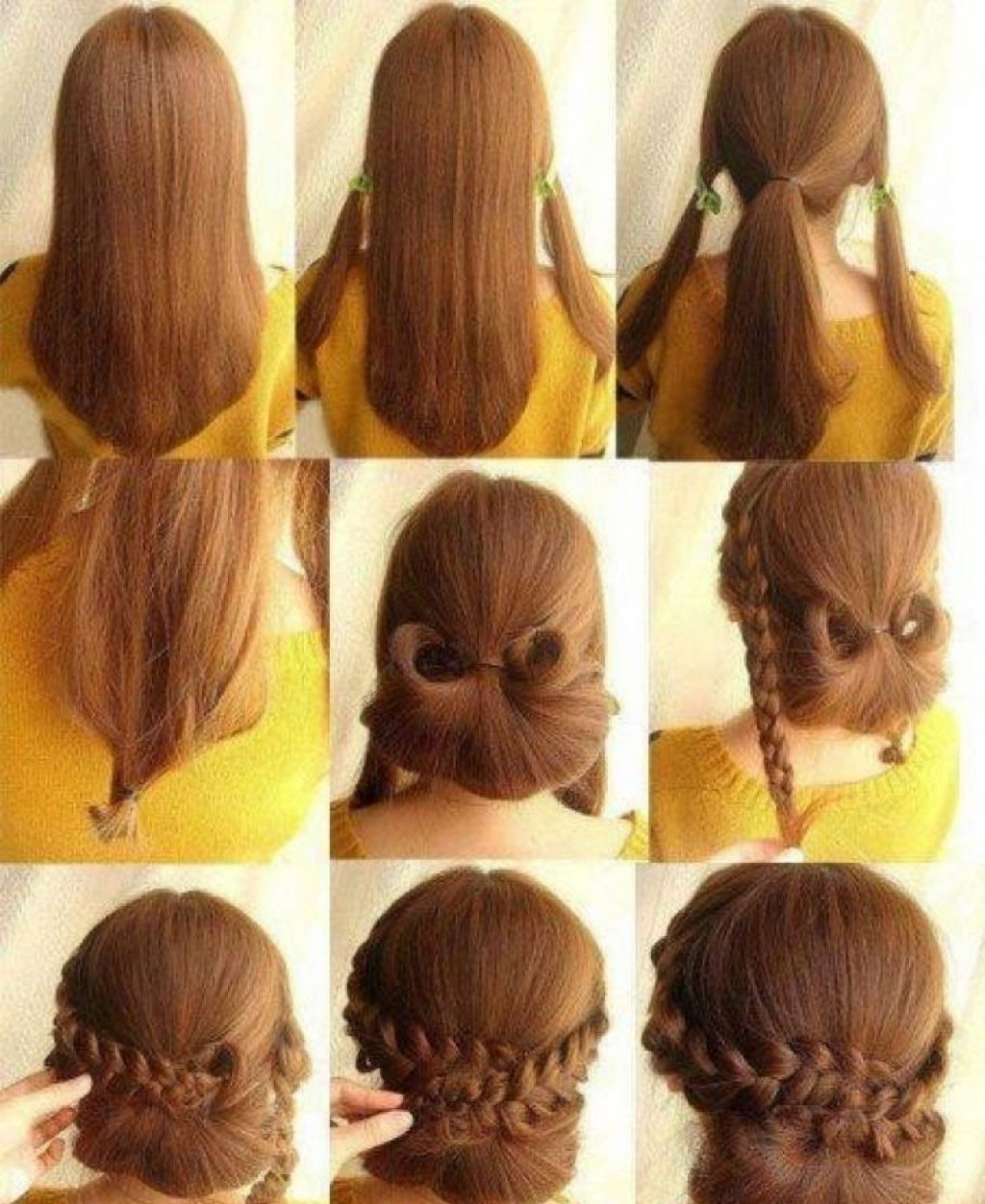 Simple Long Hairstyles Updos Easy 65 Inspiration With Long With Easy At Home Updos For Long Hair (View 13 of 15)