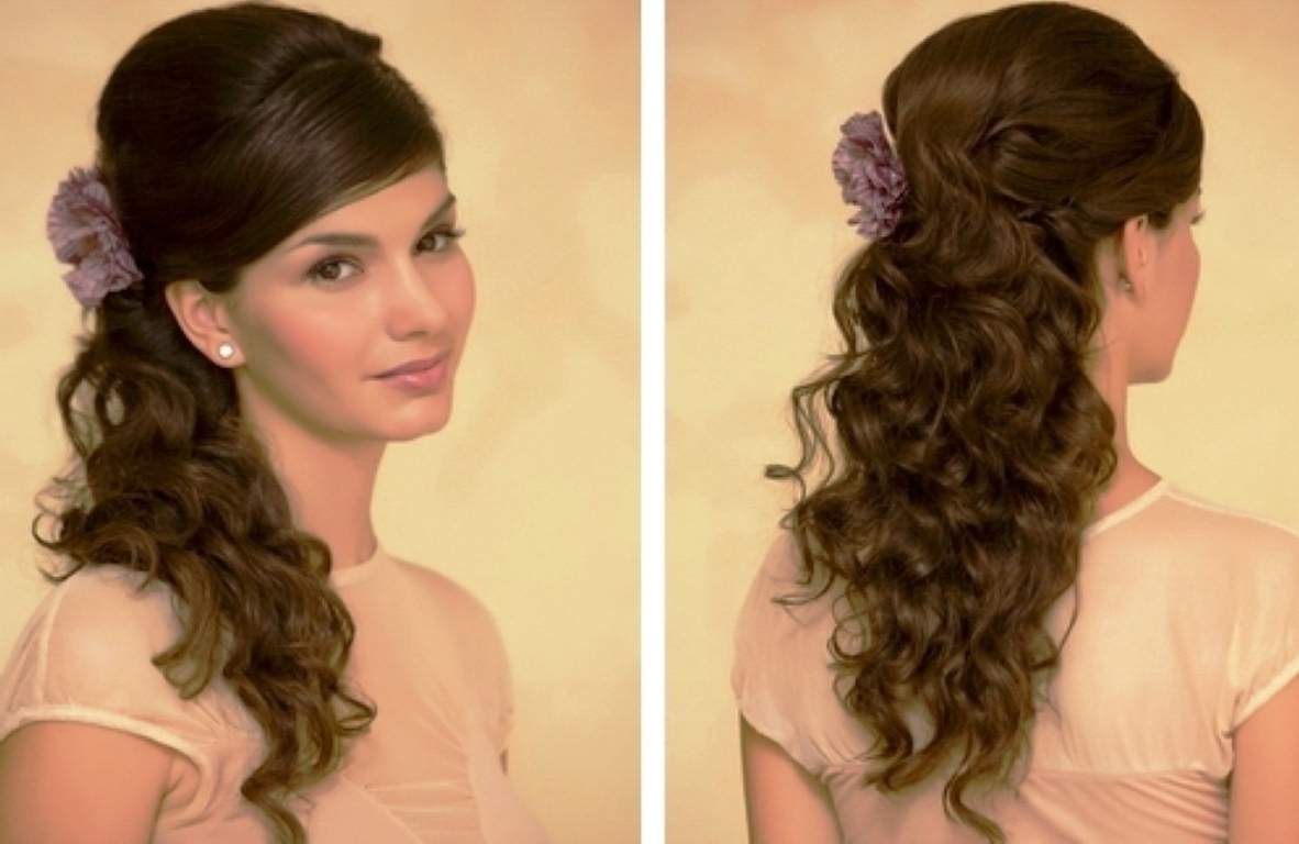 Simple Prom Hairstyles For Long Hair – Hairstyle For Women & Man For Really Long Hair Updo Hairstyles (View 11 of 15)