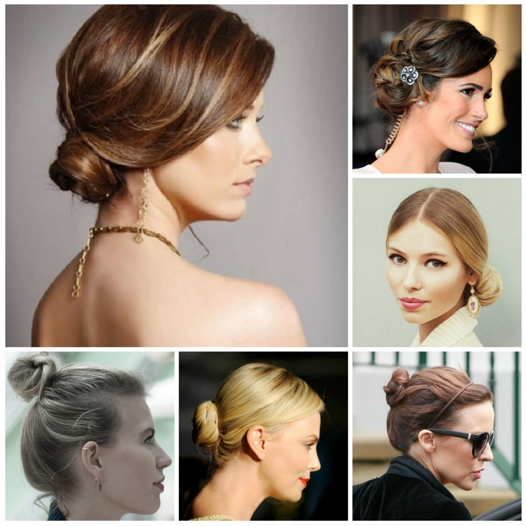 Simple Updo Hairstyles For Short Hair 66 Inspiration With Updo Regarding Updo Hairstyles For Short Hair (View 14 of 15)