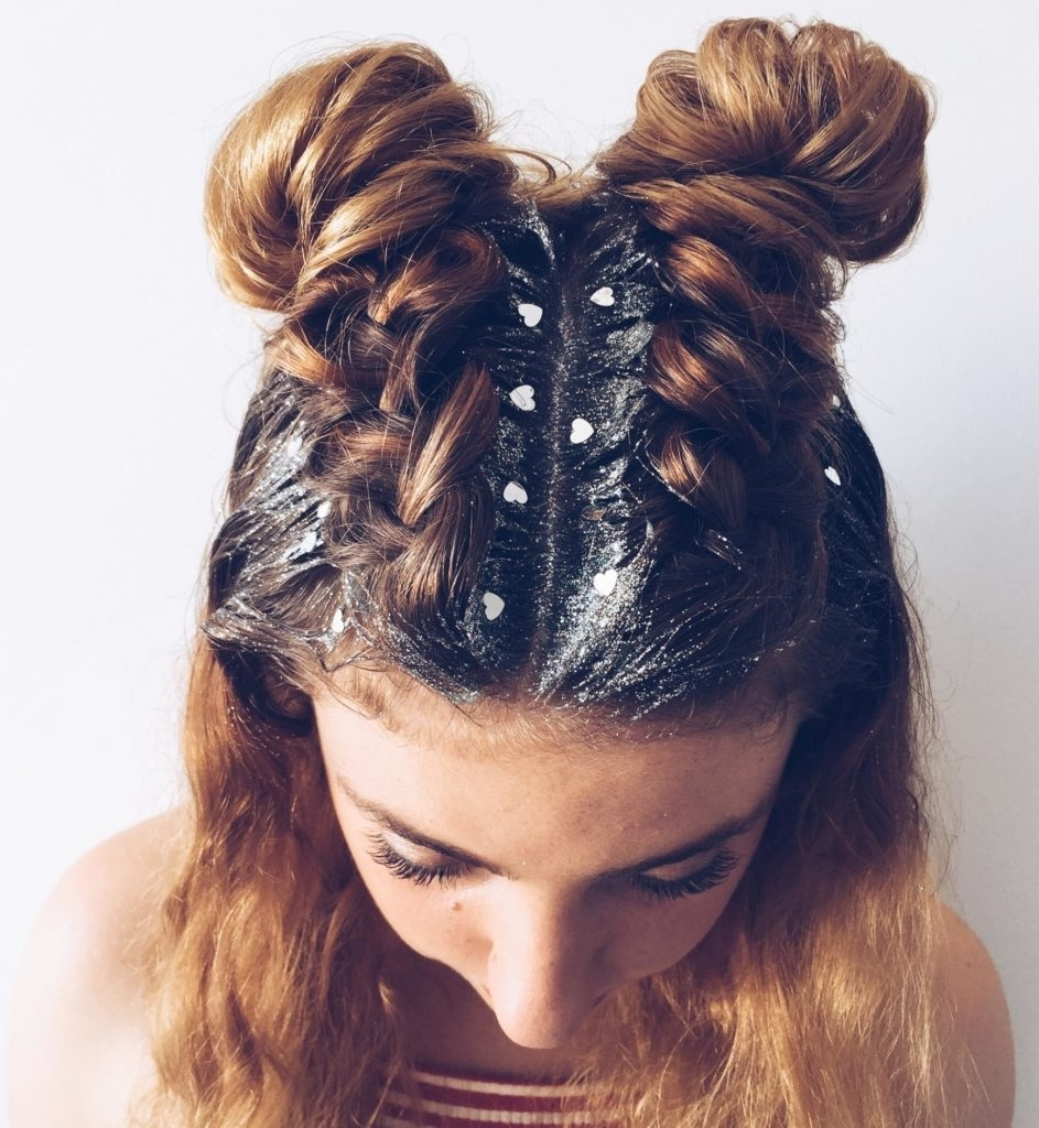 Simply Adorable Prom Hairstyles 2017 | Hairdrome Intended For Cute Bun Updo Hairstyles (View 14 of 15)