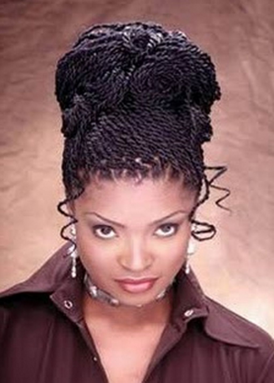 Single Braids Updo Hairstyles African Braids Updo Hairstyle – Long Within Single Braid Updo Hairstyles (View 10 of 15)