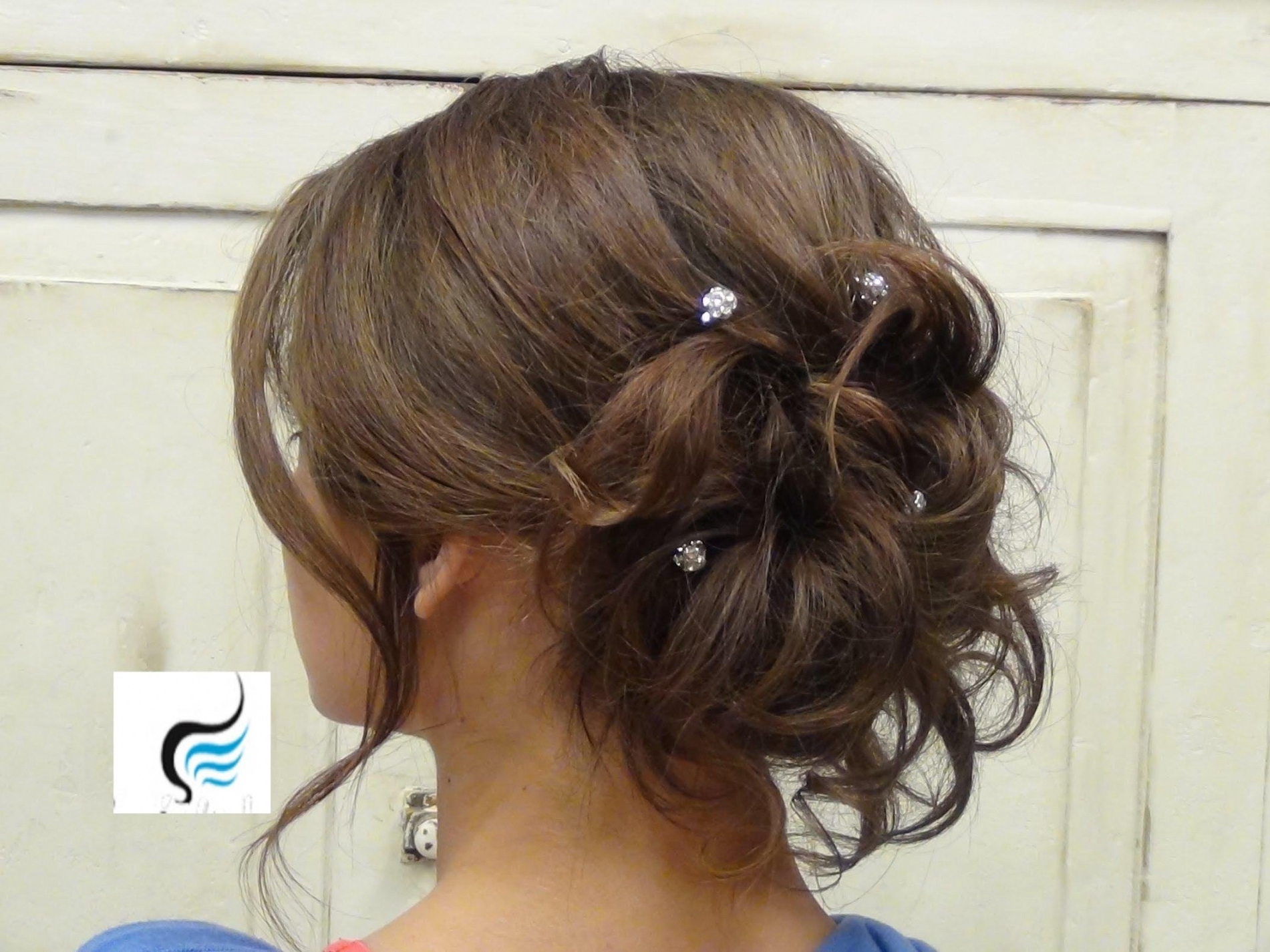 Soft Hairstyles For Weddings Unique Soft Curled Updo For Long Hair Intended For Soft Updos For Long Hair (View 14 of 15)