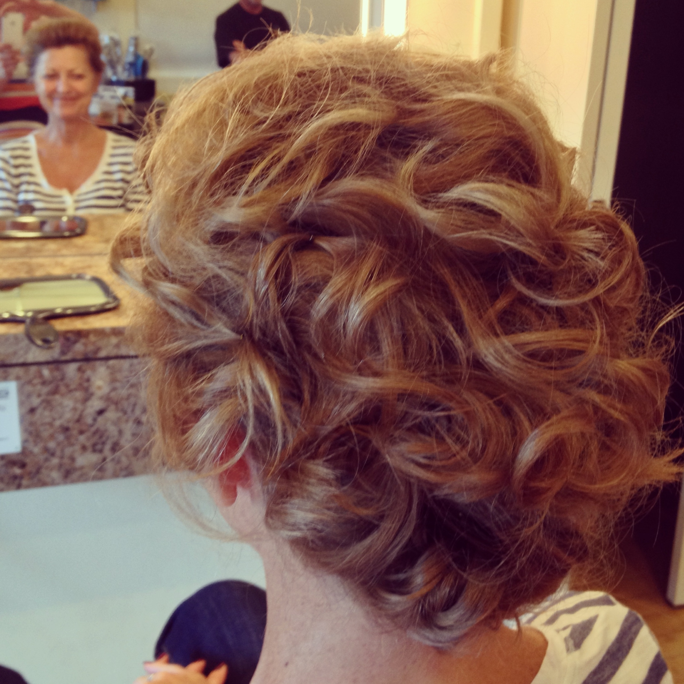 Soft Updo For Short Hair At Haircarrie Mammoth Lakes | Luxury With Soft Updos For Short Hair (View 12 of 15)